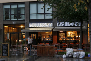 El Café Mellqvist donde acaba la primera novela y donde Larsson desayunaba casi a diario