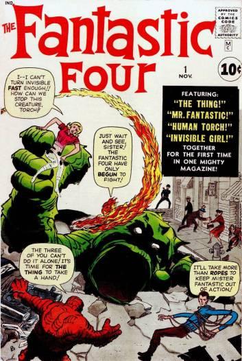 Primer número de los FF de agosto de 1961